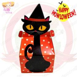 A016001萬聖黑貓糖果盒2