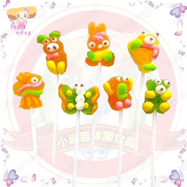 A007014小動物棒棒糖1
