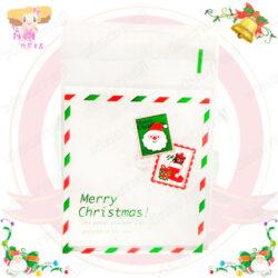 A016030聖誕郵票自黏袋