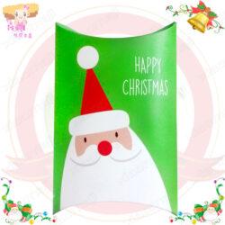 A016044聖誕老公公小禮盒綠色1