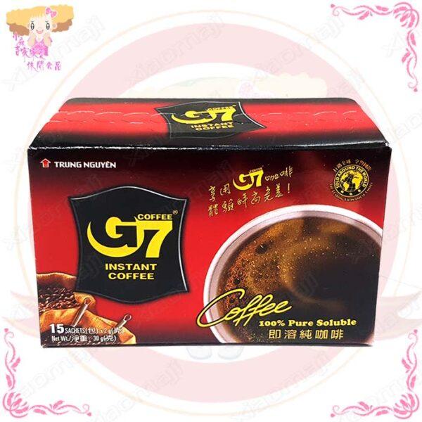 T001037g7純咖啡15入