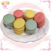 馬卡龍造型綜合水果風味餅乾1