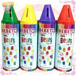 Bebeto蠟筆彩虹熊軟糖 A012022
