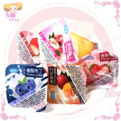 F001020 錸寶優酪布丁-水果風味(奶素)